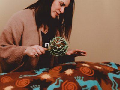 Nalini Doing a Shamanic Healing